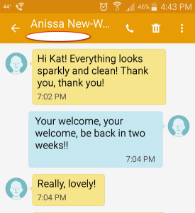Review 2 - House Cleaning In Manchester NJ And Surrounding Areas